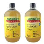 Apple Cider Vinegar Organic 1L Twin Pack