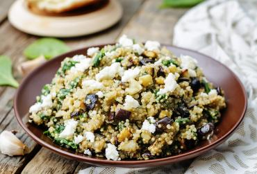 Pepita & Spinach Couscous